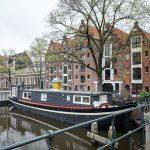 Woonboot in Amsterdam